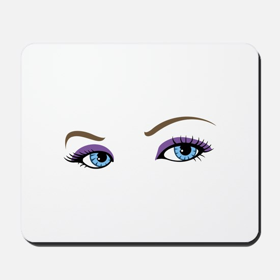 WOMANS EYES Mousepad