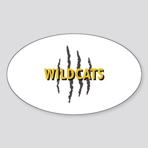 WILDCATS CLAW MARKS Sticker