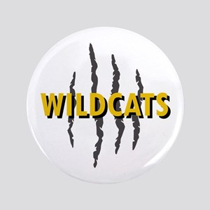 """WILDCATS CLAW MARKS 3.5"""" Button"""