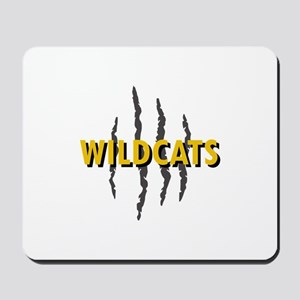 WILDCATS CLAW MARKS Mousepad