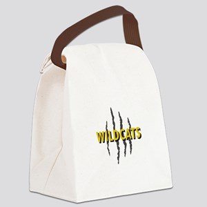 WILDCATS CLAW MARKS Canvas Lunch Bag