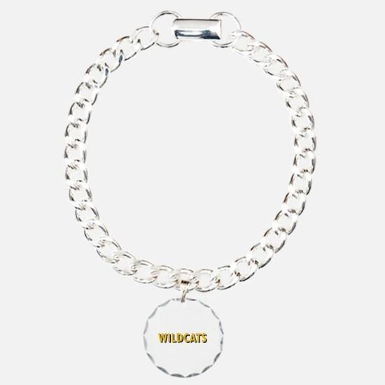 WILDCATS TEXT Bracelet