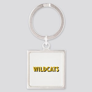 WILDCATS TEXT Keychains