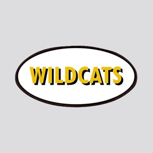 WILDCATS TEXT Patches