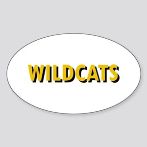 WILDCATS TEXT Sticker