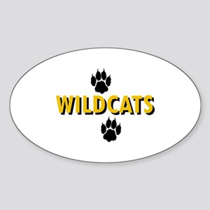 WILDCATS AND PAWS Sticker