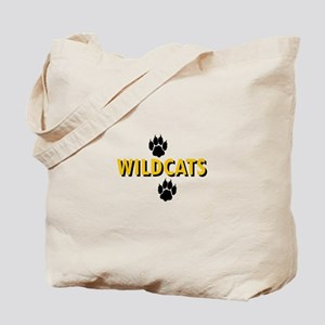 WILDCATS AND PAWS Tote Bag