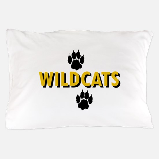 WILDCATS AND PAWS Pillow Case