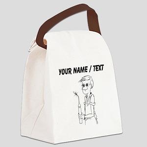 Welder (Custom) Canvas Lunch Bag