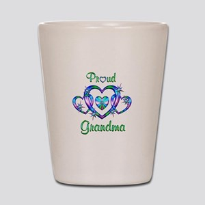 Proud Grandma Shot Glass