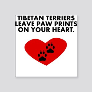 Tibetan Terriers Leave Paw Prints On Your Heart St