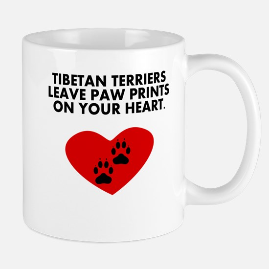 Tibetan Terriers Leave Paw Prints On Your Heart Mu
