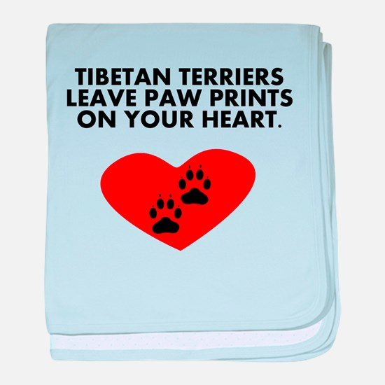 Tibetan Terriers Leave Paw Prints On Your Heart ba
