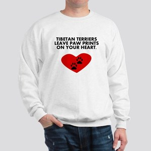 Tibetan Terriers Leave Paw Prints On Your Heart Sw