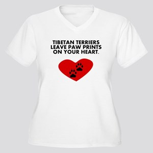 Tibetan Terriers Leave Paw Prints On Your Heart Pl