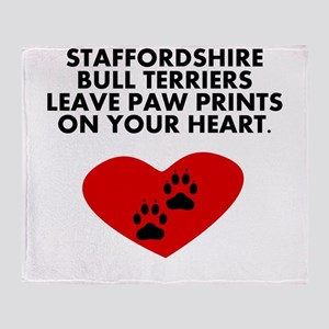 Staffordshire Bull Terriers Leave Paw Prints On Yo