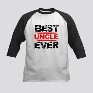 best uncle ever black and red grun Baseball Jersey