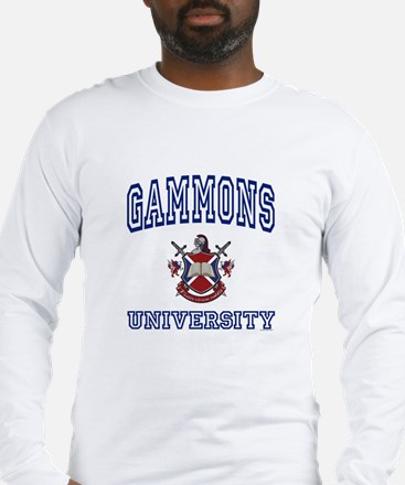 GAMMONS University Long Sleeve T-Shirt