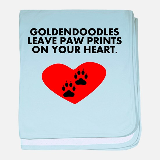 Goldendoodles Leave Paw Prints On Your Heart baby