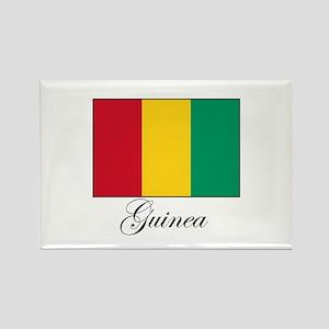 Guinea - Flag Rectangle Magnet