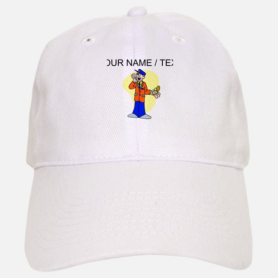 Train Station Attendant (Custom) Baseball Baseball Baseball Cap