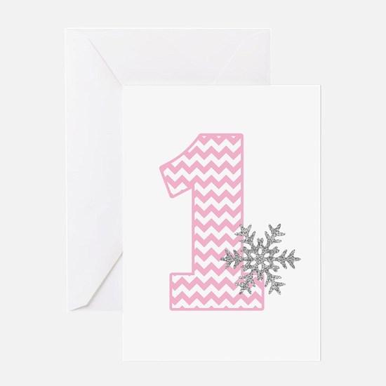 Snowflake 1 Greeting Cards