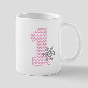 Snowflake 1 Mugs
