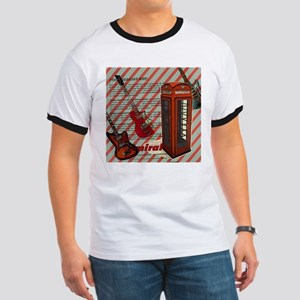 fashion london telephone guitar T-Shirt