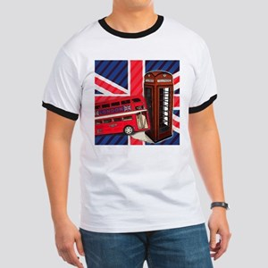 telephone booth london bus T-Shirt