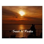 Sunset In Paradise Small Poster