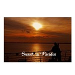 Sunset in Paradise Postcards (Package of 8)