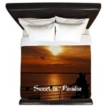 Sunset in Paradise King Duvet