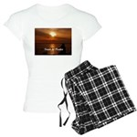 Sunset in Paradise Women's Light Pajamas