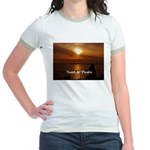 Sunset in Paradise Jr. Ringer T-Shirt