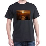 Sunset in Paradise Dark T-Shirt