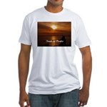 Sunset in Paradise Fitted T-Shirt