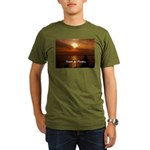 Sunset in Paradise Organic Men's T-Shirt (dark)