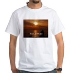 Sunset in Paradise White T-Shirt
