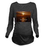 Sunset in Paradise Long Sleeve Maternity T-Shirt