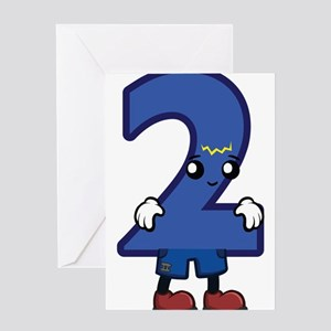 2 Meet the Numbers Greeting Cards