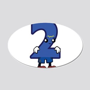 2 Meet the Numbers Wall Decal