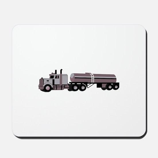 SEMI W/ TANKER Mousepad