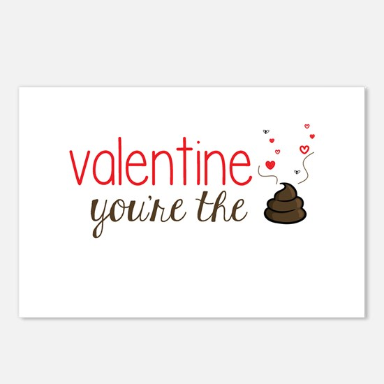 Valentine You're the Poo Postcards (Package of 8)