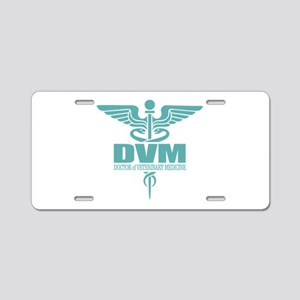 Caduceus DVM Aluminum License Plate