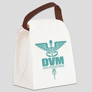 Caduceus DVM Canvas Lunch Bag