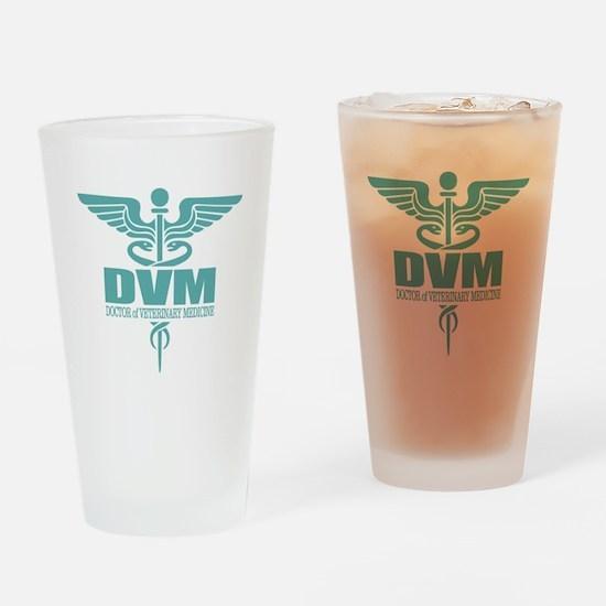 Caduceus DVM Drinking Glass