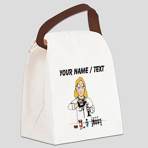 Scientist (Custom) Canvas Lunch Bag