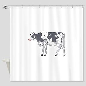 Holstein Cow Shower Curtain