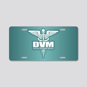 Caduceus DVM Aluminum License Plate