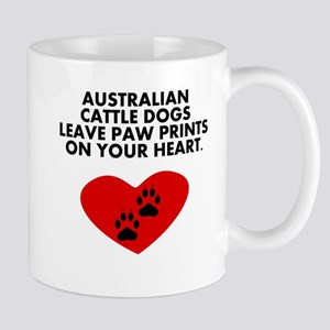 Australian Cattle Dogs Leave Paw Prints On Your He
